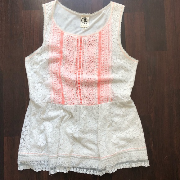 one september Tops - Anthropologie Lace tank